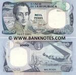 Colombia 1000 Pesos Oro 1995 (964738xx) UNC