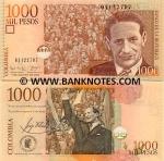 Colombia 1000 Pesos 2005 (952895xx) UNC