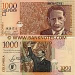 Colombia 1000 Pesos 9.11.2006 (803647xx) UNC