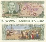 Costa Rica 5 Colones 7.4.1983 (D509238xx) UNC