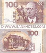 Czechoslovakia 100 Korun 2018 Private product (Test Note) (CS0000xx) UNC