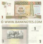 Cuba 1 Peso Convertible 2011 (AD06/1905xx) UNC