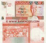 Cuba 3 Pesos Convertibles 2006 (BB04/015532) UNC