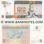 Cuba 5 Pesos Convertibles 2006 (CC07/755528) UNC