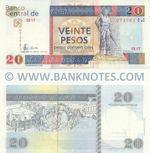 Cuba 20 Pesos Convertibles 2006 (EB17/073783) UNC