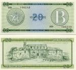 Cuba 20 Pesos (1985) (DD 10625x) UNC