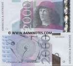 "Germany 2000 (EURO) ND (ca.2000) BN Giesecke & Devrient Promo Note ""Botticelli"" (Russian) (A0010505M) UNC"