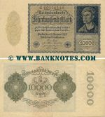 Germany 10000 Mark 19.1.1922 (C.10126548) (circulated) VF-XF