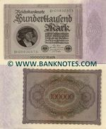 Germany 1000 Mark 1.2.1923 (12H-205141) (circulated) F-VF
