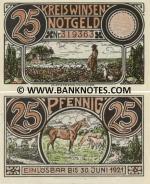 Germany 25 Pfennig Kreis Winsen (Luhe) 1921 Notgeld (#3193xx) UNC