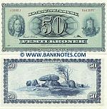 Denmark 50 Kroner 1960 (A3600J/0463681) UNC