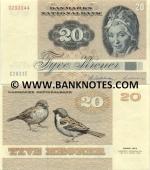 Denmark 20 Kroner 1980 (A5801x/93329xx) UNC