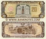 Dominican Republic 20 Pesos Oro 1998 (J7258xxF) UNC