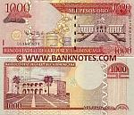Dominican Republic 1000 Pesos Oro 2010 (DS3660833) UNC