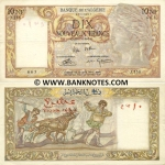 Algeria 10 Nouveaux Francs 25.11.1960 (M.638/15936124) (circulated) F-VF