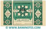 Algeria Lottery ticket 860 Francs 1956. Serial # 107573 XF