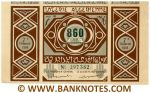 Algeria Lottery ticket 860 Francs 1956. Serial # 297382 XF