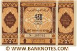 Algeria Lottery ticket 430 Francs 1948. Serial # 283702 (new) AU
