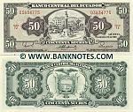 Ecuador 50 Sucres 1988 (TZ 038347xx) UNC