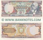 Ecuador 50000 Sucres 12.7.1999 (AJ 046644xx) UNC