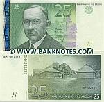 Estonia 25 Krooni 2002 (BM4181xx) UNC