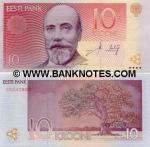 Estonia 10 Krooni 2006 (CK5428xx) UNC