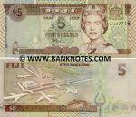 Fiji 5 Dollars (2002) (AG9548xx) UNC