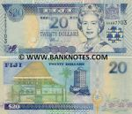 Fiji 20 Dollars (2002) (AR093607) UNC