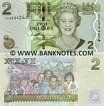 Fiji 2 Dollars (2007) (CF9594xx) UNC