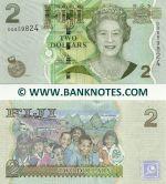 Fiji 2 Dollars (2011) (DQ8598xx) UNC