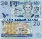Fiji 20 Dollars (2007) (CY287288) UNC