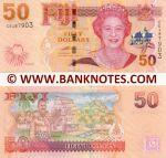 Fiji 50 Dollars (2007) (CE487903) UNC