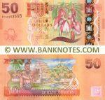 Fiji 50 Dollars (2012) (FFA0202505) UNC
