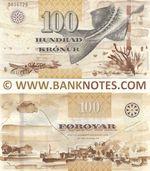 Faroe Islands 100 Krónur 2011 (C0112M/509661M) UNC