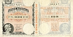 France 100 Francs 1934 National Lottery Ticket (23 53808) VF