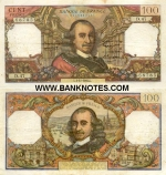 France 100 Francs 5.10.1972 (X.666/1664651193) (circulated) Fine+
