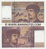 France 20 Francs 1997 (X.059/14726941xx) UNC