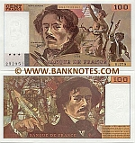 France 100 Francs 1990  (Q.175/4365887686) (ph) (circulated) F-VF