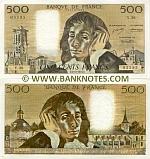 France 500 Francs 22.1.1987 (N.258/643722233) UNC-