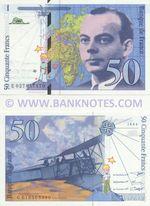 France 50 Francs 1994 (G 019563390) UNC