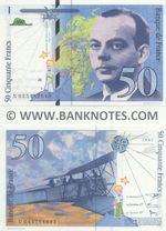 France 50 Francs 1997 (Y 044777268) UNC