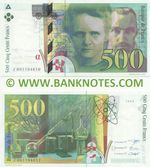 France 500 Francs 1994 (J 001194610) UNC-