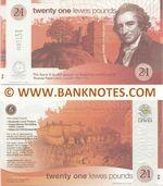 Great Britain 21 Lewes Pounds 2009 (000115x) UNC