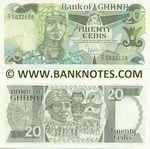 Ghana 20 Cedis 15.7.1986 (D/I 583xxxx) UNC