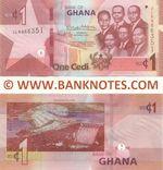 Ghana 1 Cedi 4.3.2019 (JL89663xx) UNC