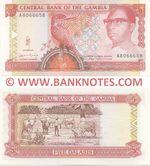 Gambia 5 Dalasis (1991-95) (A8066658) UNC