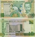 Gambia 10 Dalasis (2006) (D218902x) UNC