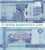 Gambia 20 Dalasis (2015) (A13012xx) UNC
