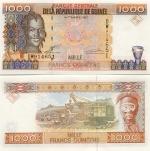 Guinea 1000 Francs 1998 (DW9146xx) UNC