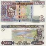 Guinea 5000 Francs 1998 (EQ997576) UNC